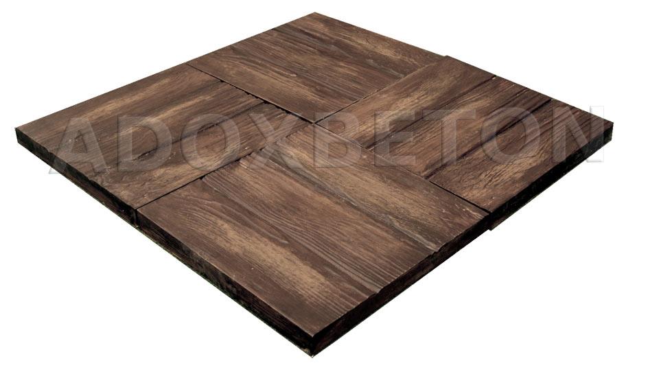 Betonova dlazba drevo